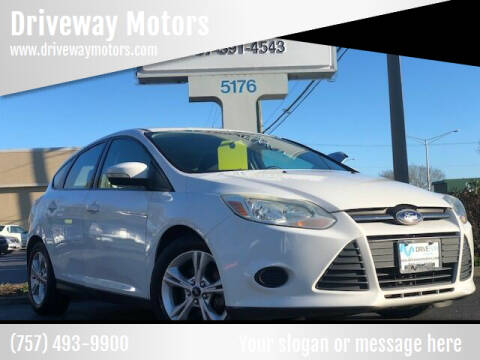 2014 Ford Focus for sale at Driveway Motors in Virginia Beach VA