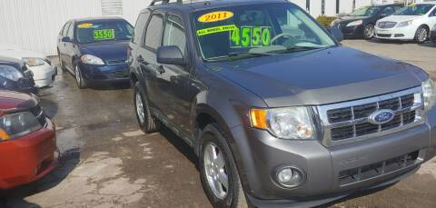 2011 Ford Escape for sale at Superior Motors in Mount Morris MI