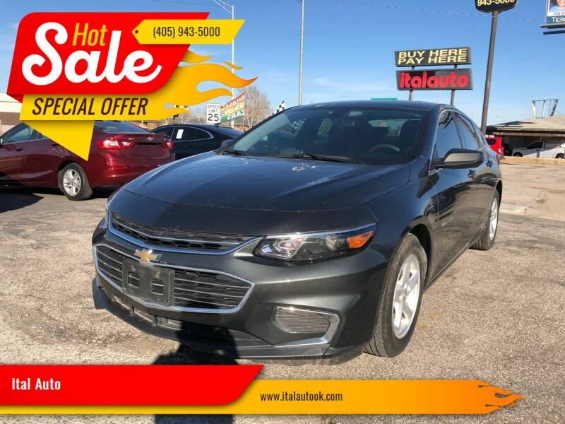 2018 Chevrolet Malibu for sale at Ital Auto in Oklahoma City OK