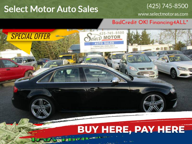 2012 Audi S4 for sale at Select Motor Auto Sales in Lynnwood WA