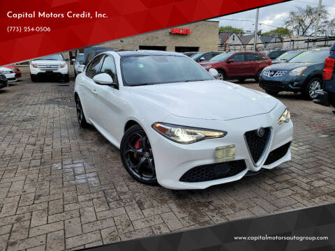 2017 Alfa Romeo Giulia for sale at Capital Motors Credit, Inc. in Chicago IL