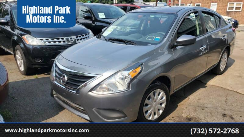 2018 Nissan Versa for sale at Highland Park Motors Inc. in Highland Park NJ