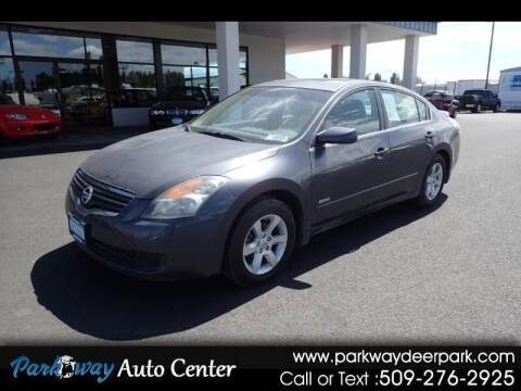 2008 Nissan Altima Hybrid for sale at PARKWAY AUTO CENTER AND RV in Deer Park WA