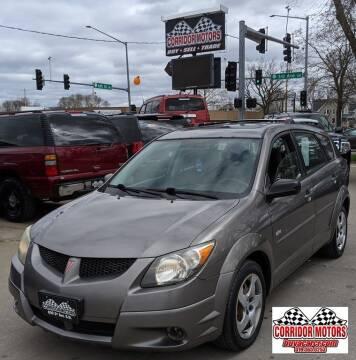 2003 Pontiac Vibe for sale at Corridor Motors in Cedar Rapids IA