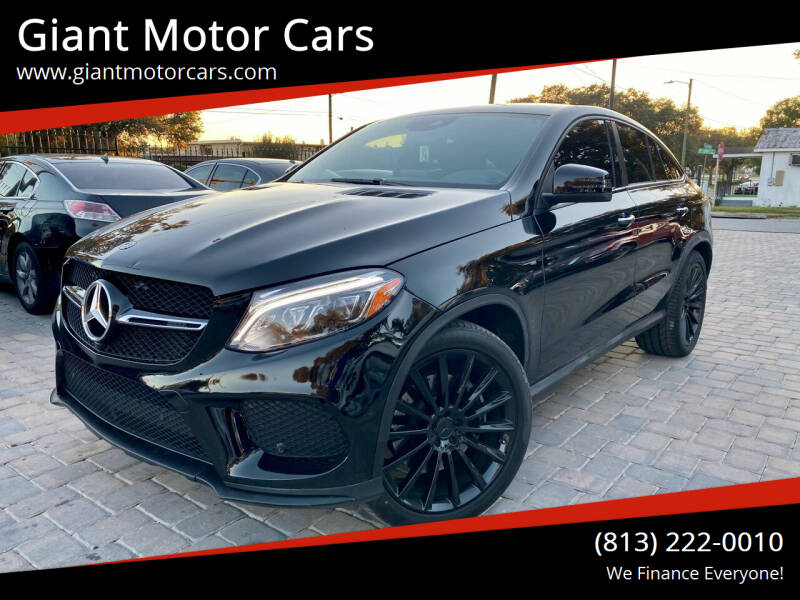 2018 Mercedes-Benz GLE for sale at Giant Motor Cars in Tampa FL