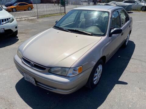 1998 Toyota Corolla for sale at 101 Auto Sales in Sacramento CA