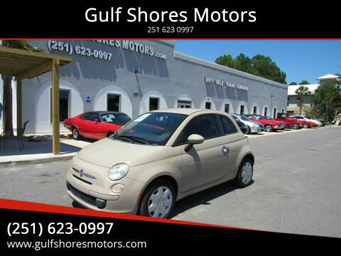 2012 FIAT 500 for sale at Gulf Shores Motors in Gulf Shores AL