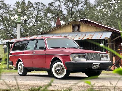 1984 Volvo 240 for sale at OVE Car Trader Corp in Tampa FL