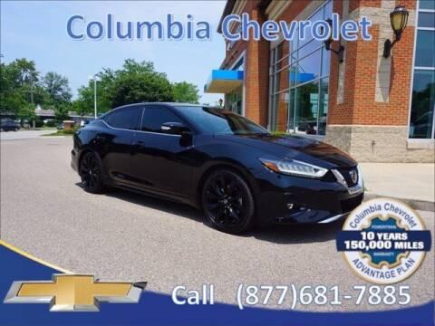 2020 Nissan Maxima for sale at COLUMBIA CHEVROLET in Cincinnati OH