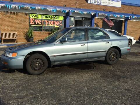 1996 Honda Accord for sale at Duke Automotive Group in Cincinnati OH