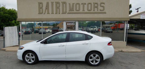 2016 Dodge Dart for sale at BAIRD MOTORS in Clearfield UT