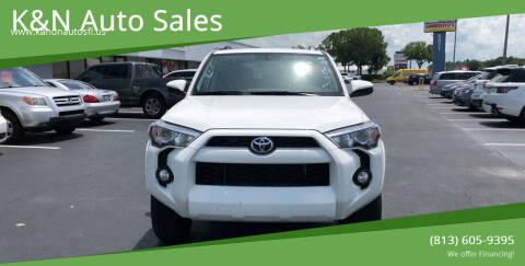 2019 Toyota 4Runner for sale at K&N Auto Sales in Tampa FL