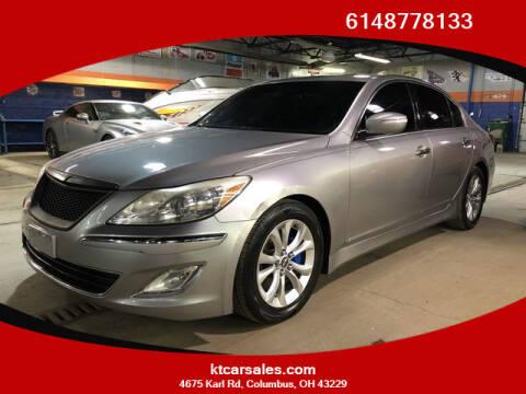 2013 Hyundai Genesis for sale at K & T CAR SALES INC in Columbus OH