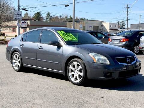 2008 Nissan Maxima for sale at United Auto Service in Leominster MA