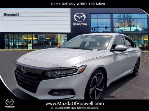 2019 Honda Accord for sale at Mazda Of Roswell in Roswell GA