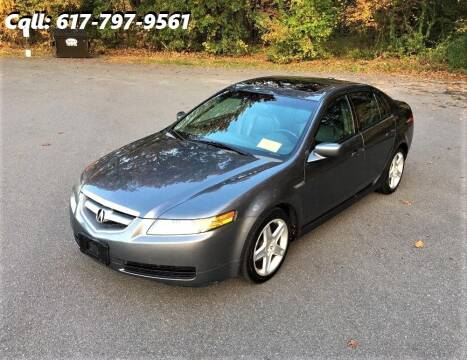 2006 Acura TL for sale at Wheeler Dealer Inc. in Acton MA