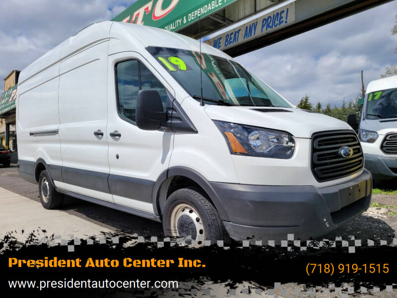2019 Ford Transit Cargo for sale at President Auto Center Inc. in Brooklyn NY