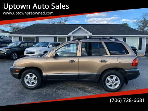 2002 Hyundai Santa Fe for sale at Uptown Auto Sales in Rome GA