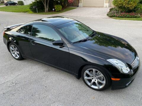 2006 Infiniti G35 for sale at Exceed Auto Brokers in Lighthouse Point FL