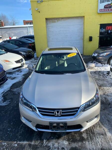 2013 Honda Accord for sale at Hartford Auto Center in Hartford CT