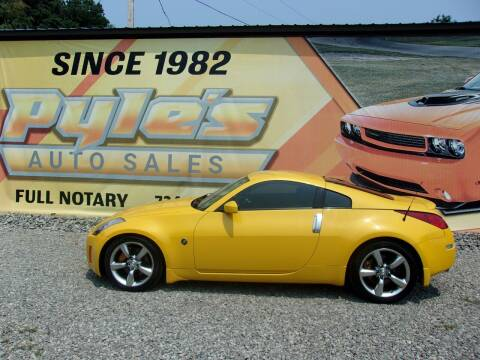 2005 Nissan 350Z for sale at Pyles Auto Sales in Kittanning PA