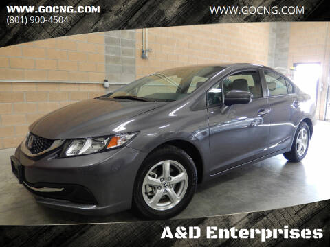 2015 Honda Civic for sale at A&D Enterprises in Spanish Fork UT