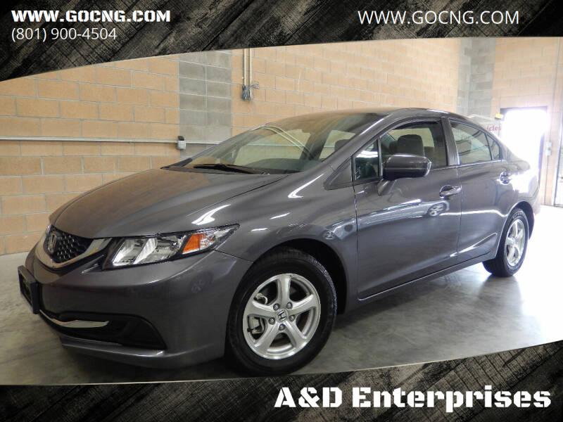 2015 Honda Civic for sale at A&D Enterprises in Spanish Fork UT