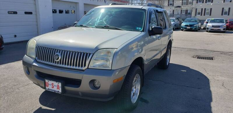 2005 Mercury Mountaineer for sale at Union Street Auto in Manchester NH