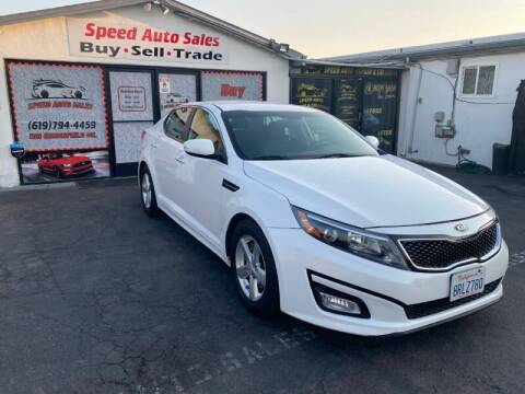 2015 Kia Optima for sale at Speed Auto Sales in El Cajon CA