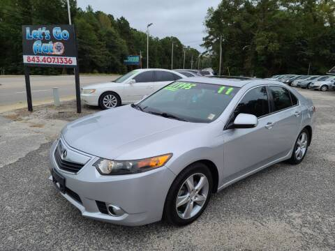 2011 Acura TSX for sale at Let's Go Auto in Florence SC