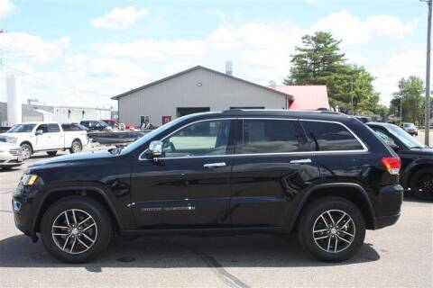 2017 Jeep Grand Cherokee for sale at SCHMITZ MOTOR CO INC in Perham MN