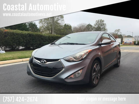 2013 Hyundai Elantra Coupe for sale at Coastal Automotive in Virginia Beach VA