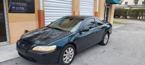 1999 Honda Accord for sale at Cad Auto Sales Inc in Miami FL
