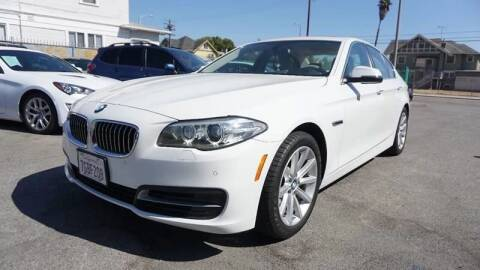 2014 BMW 5 Series for sale at Auto Ave in Los Angeles CA