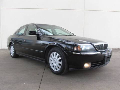 2005 Lincoln LS for sale at QUALITY MOTORCARS in Richmond TX