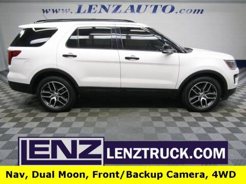 2019 Ford Explorer for sale at LENZ TRUCK CENTER in Fond Du Lac WI