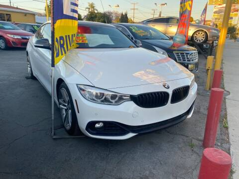 2014 BMW 4 Series for sale at Crown Auto Inc in South Gate CA