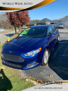 2016 Ford Fusion for sale at World Wide Auto in Fayetteville NC