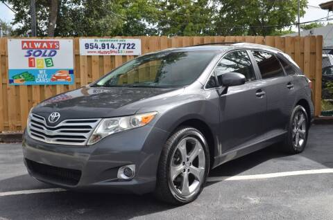 2011 Toyota Venza for sale at ALWAYSSOLD123 INC in Fort Lauderdale FL