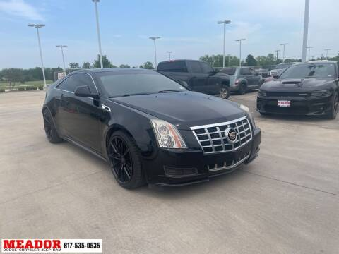 2014 Cadillac CTS for sale at Meador Dodge Chrysler Jeep RAM in Fort Worth TX