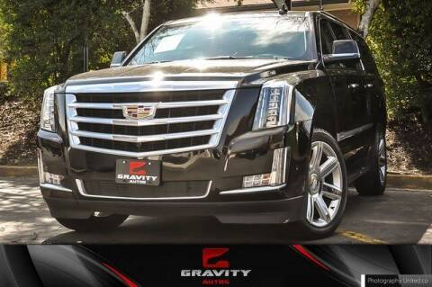2020 Cadillac Escalade ESV for sale at Gravity Autos Atlanta in Atlanta GA