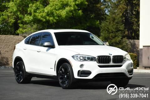 2015 BMW X6 for sale at Galaxy Autosport in Sacramento CA