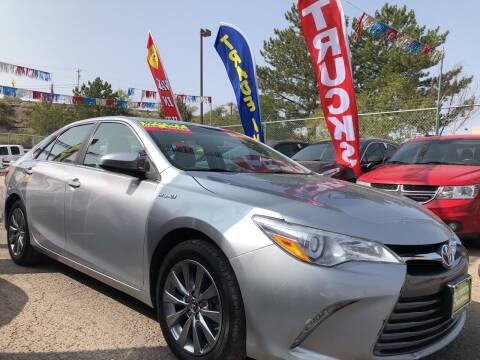 2016 Toyota Camry Hybrid for sale at Duke City Auto LLC in Gallup NM