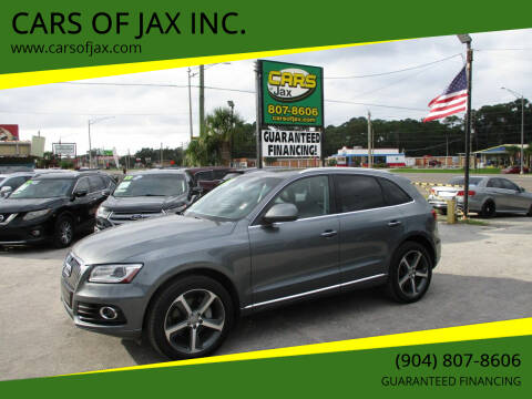 2015 Audi Q5 for sale at CARS OF JAX INC. in Jacksonville FL