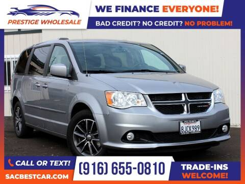 2017 Dodge Grand Caravan for sale at Prestige Wholesale in Sacramento CA