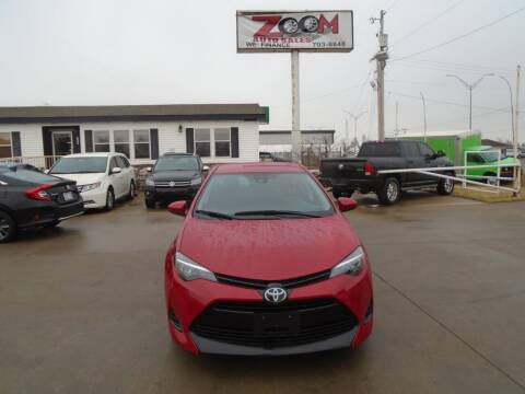 2019 Toyota Corolla for sale at Zoom Auto Sales in Oklahoma City OK