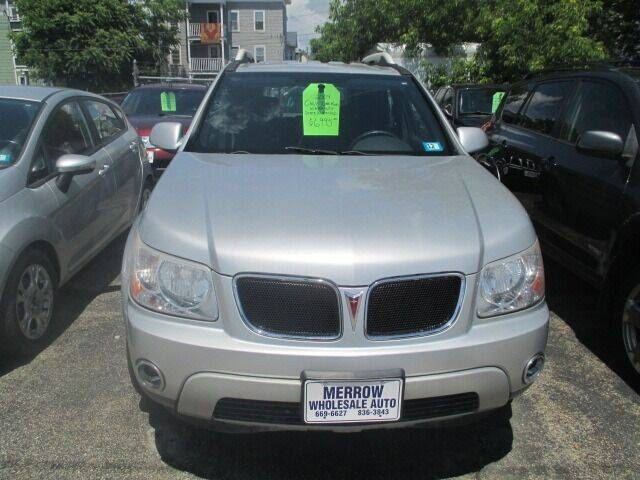 2009 Pontiac Torrent for sale at MERROW WHOLESALE AUTO in Manchester NH