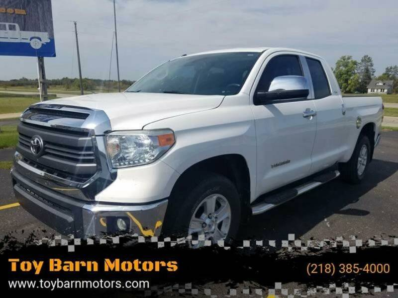 2014 Toyota Tundra for sale at Toy Barn Motors in New York Mills MN