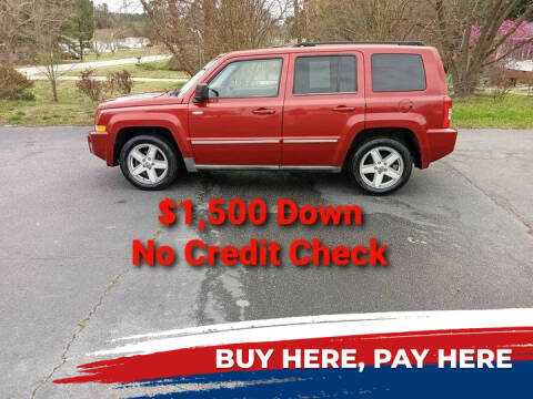 2010 Jeep Patriot for sale at BP Auto Finders in Durham NC