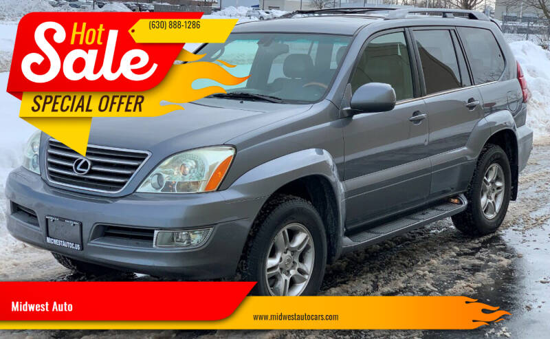 2004 Lexus GX 470 for sale at Midwest Auto in Naperville IL